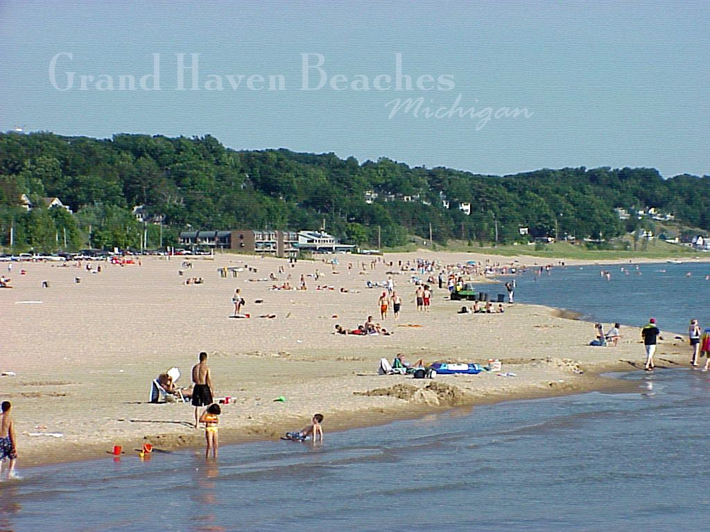 Beaches Of Grand Haven Michigan