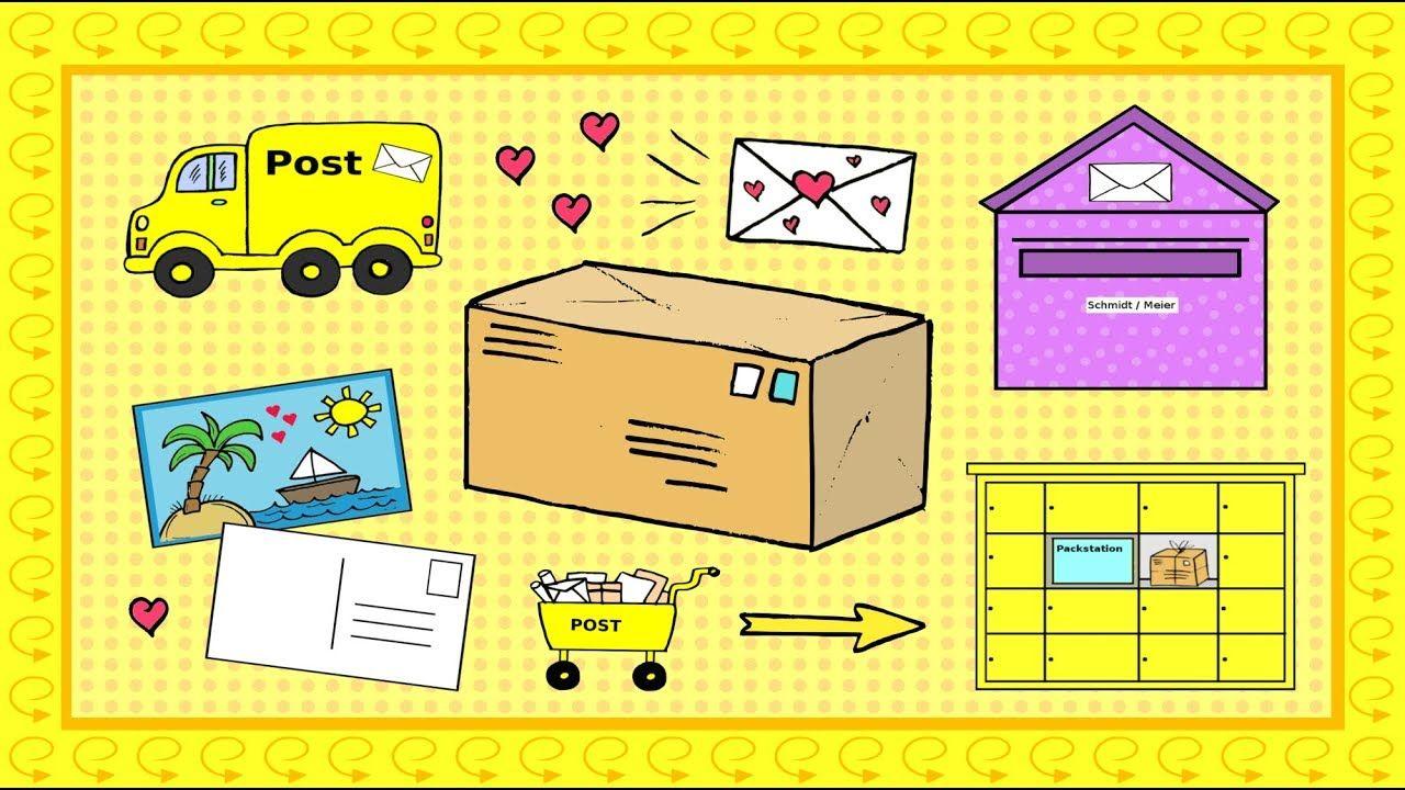 Deutsch Lernen Post Briefe Schreiben Pakete Schicken Learn