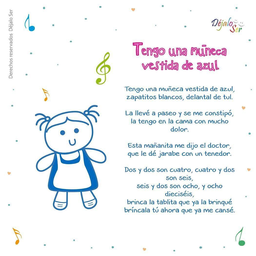 Canciones Infantiles Spanish Lessons For Kids Preschool Songs Learning Spanish