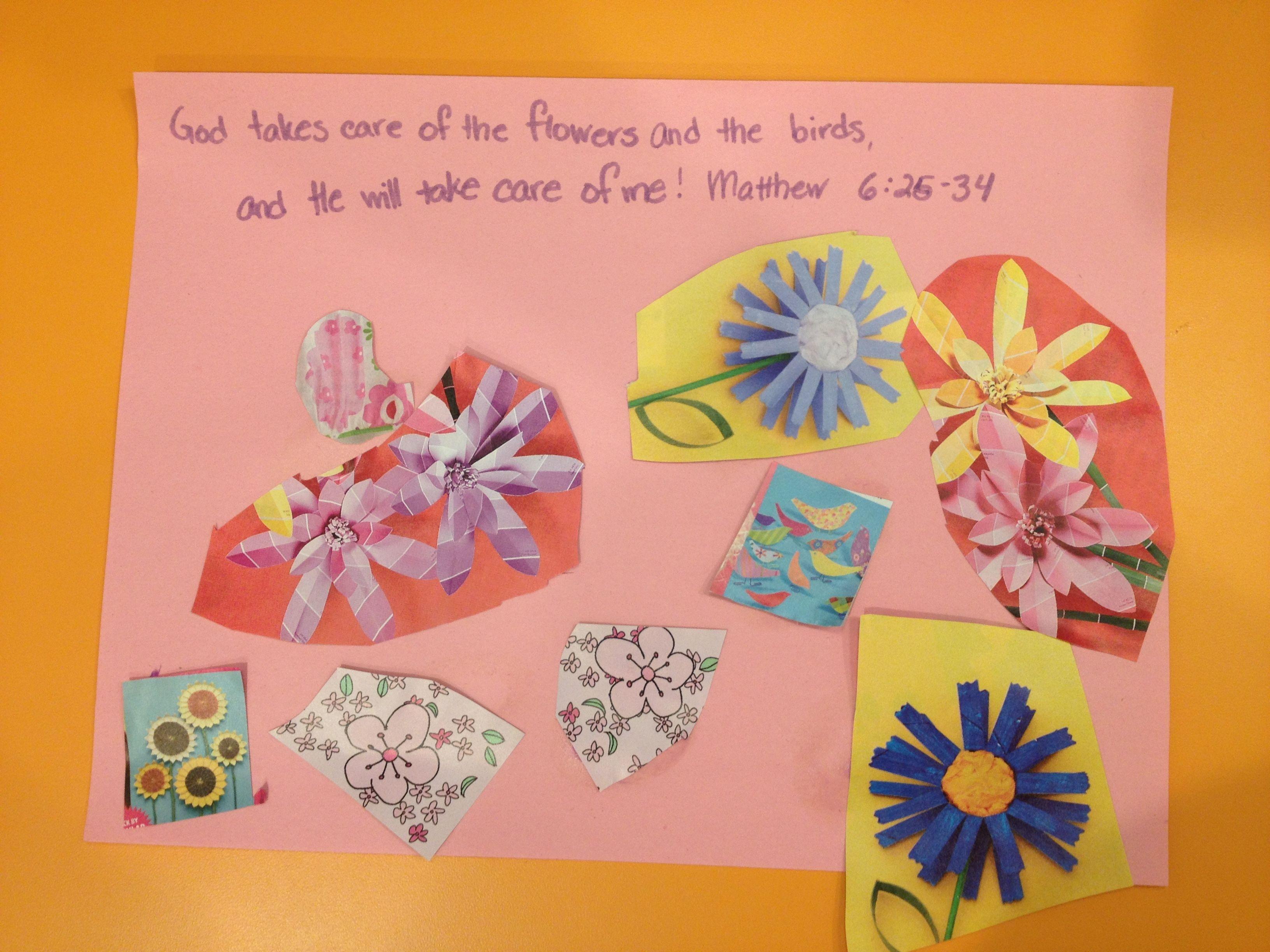 Do Not Worry Sunday School Crafts Kids Church Lessons Sunday