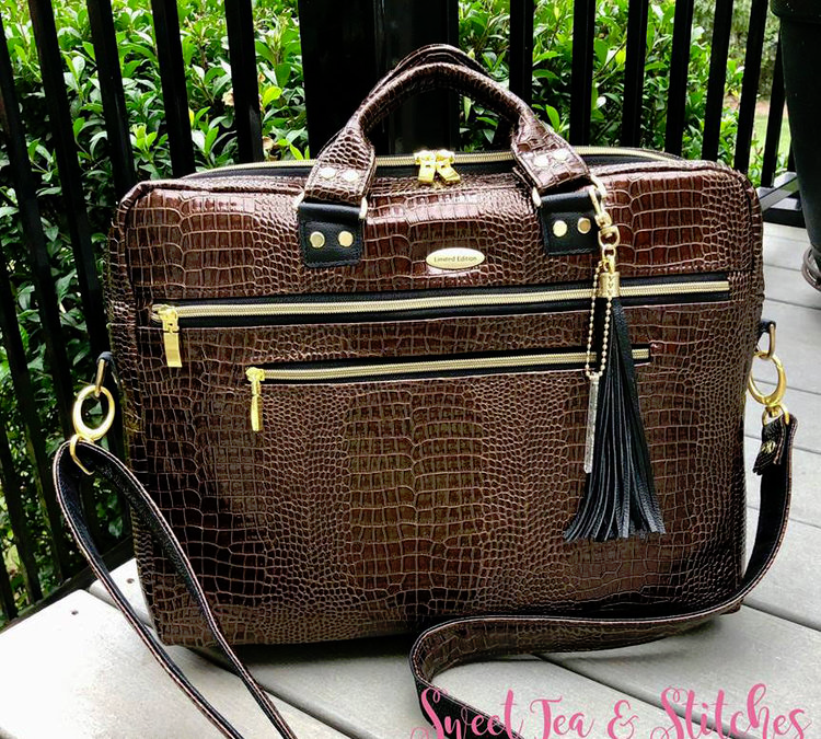 Percival Laptop Top Briefcase Bag-Work/Travel Bag — RLR Creations