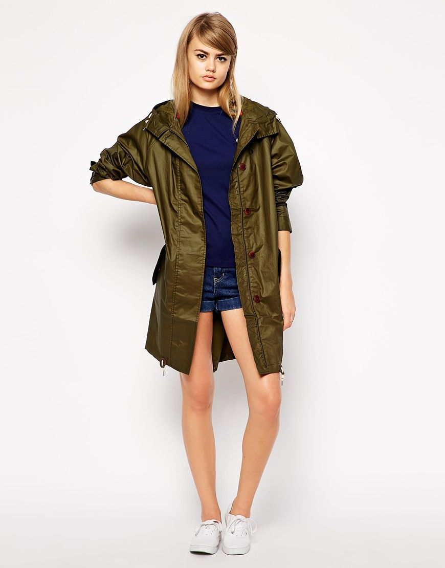 Image 4 ofFred Perry Oversized Parka