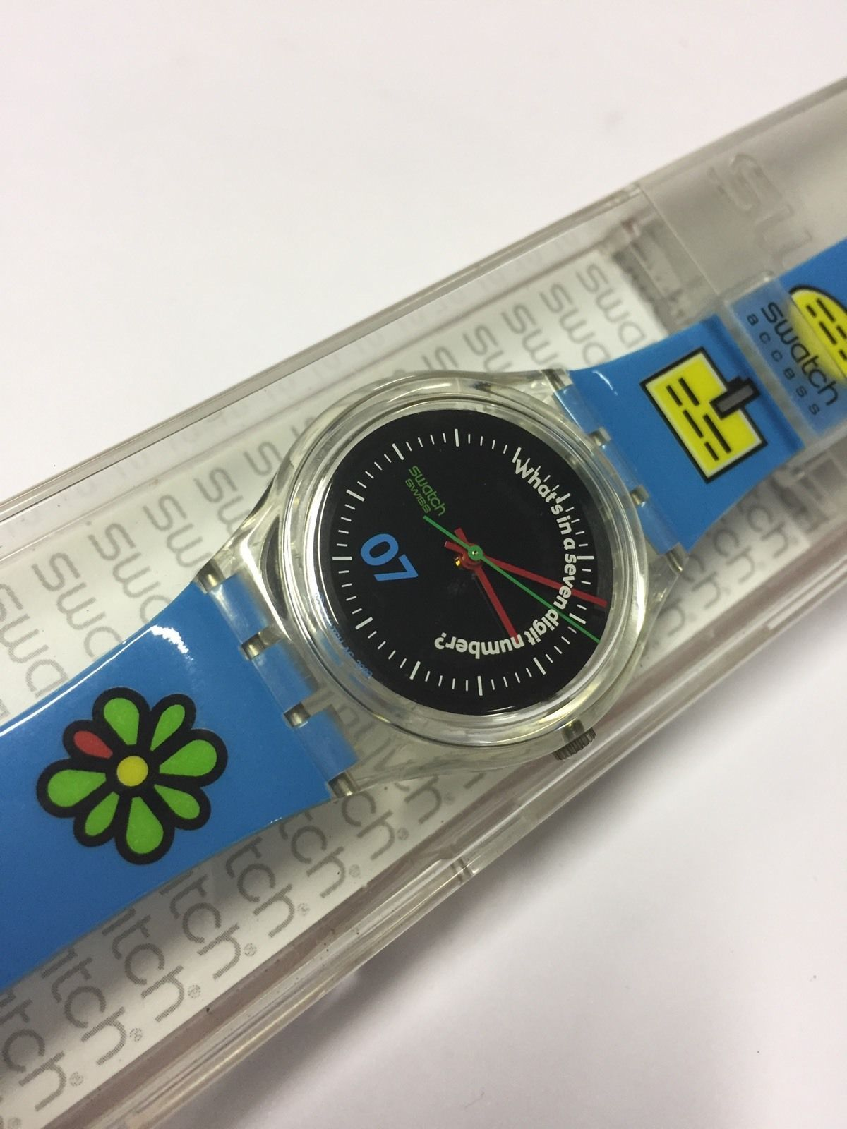 BLUE ICON [SKK125] 2003 Originals Gent * Swatch ^* Watch. New never used, In Mint Condition with box and Papers | eBay!