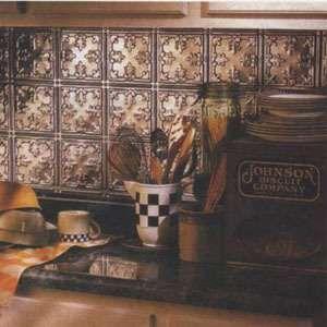 ceiling tile backsplash yahoo image search results kitchen ideas pinterest. Black Bedroom Furniture Sets. Home Design Ideas