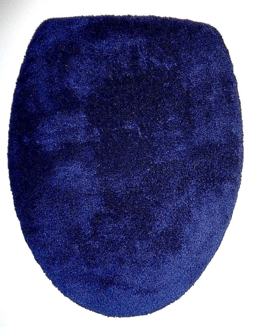 Bathmats Rugs And Toilet Covers 133696 Navy Blue Terry Cloth