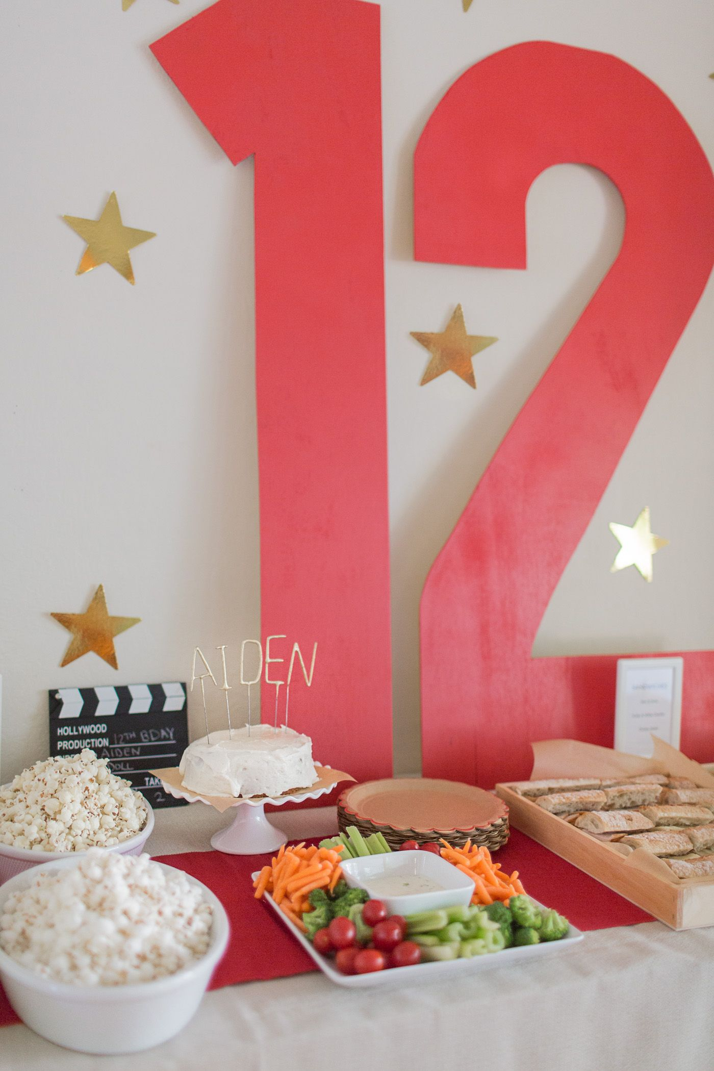 Teen Party Idea: Throw A Movie Night Party pictures