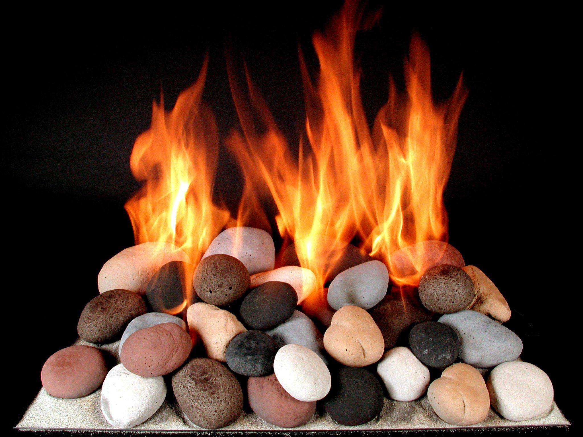 Fire Stones For Fireplace 30