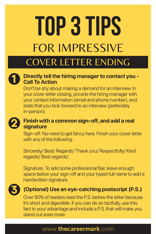 Top 3 tips for best endings for cover letter in 2020