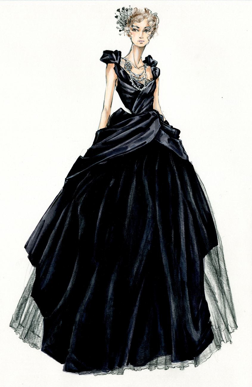 Sketch to Still: How Anna Karenina\'s Ill-Fated Heroine Came to Wear ...