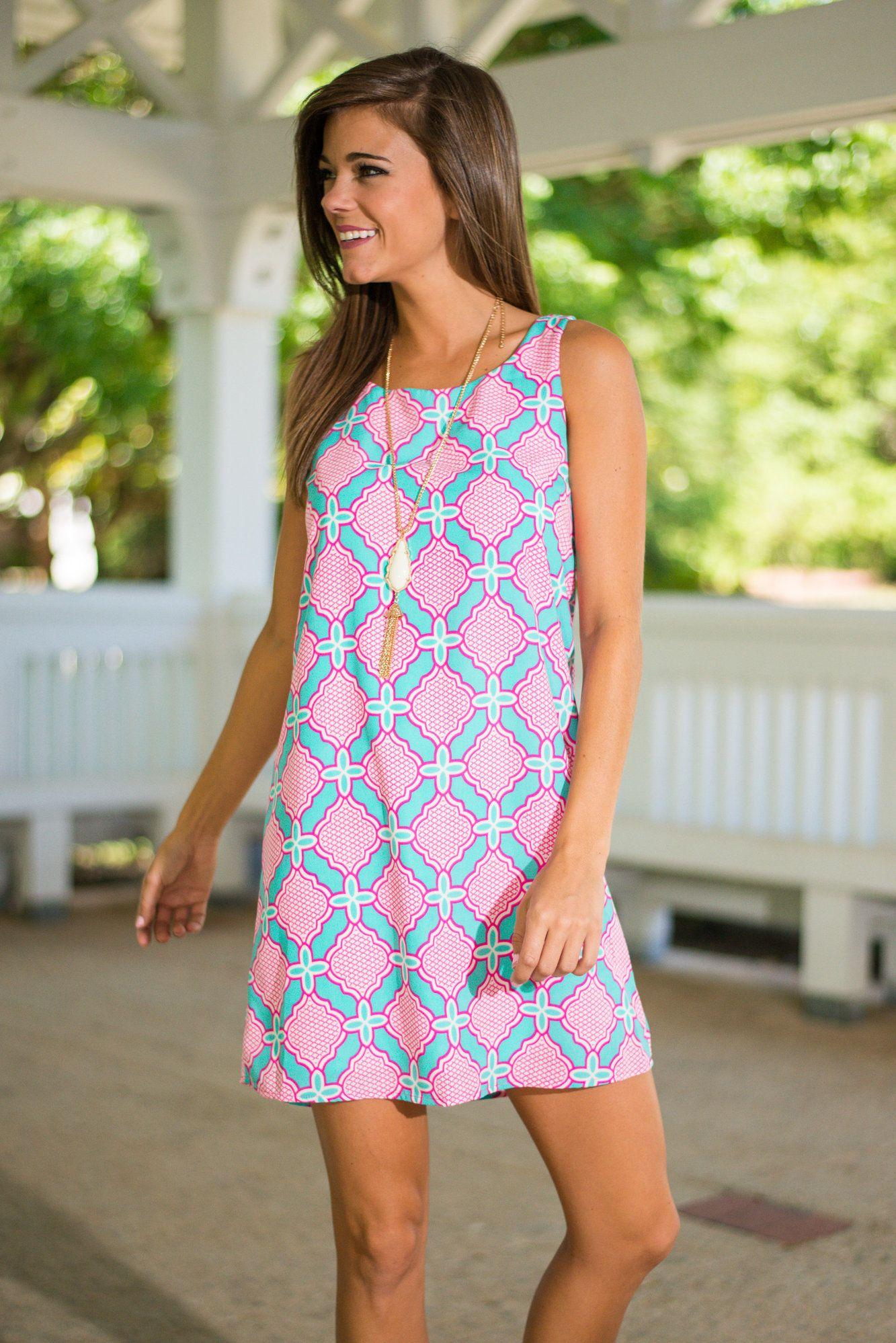 04689babba6 Shop Shift Dresses - The Mint Julep Boutique