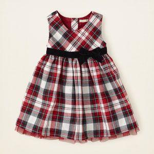 85ee92c328bd baby girl - dresses   rompers - plaid jumper dress