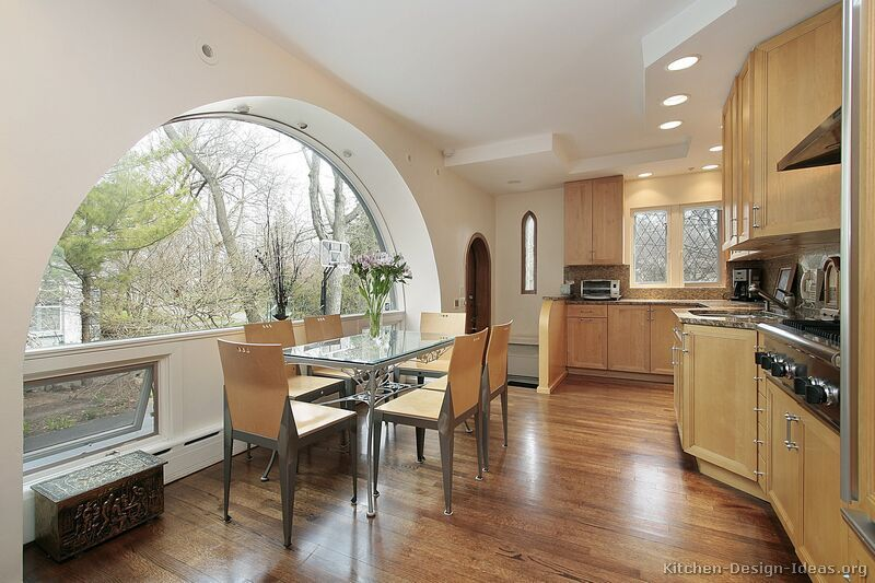 Kitchen Idea Of The Day Modern Kitchen Designs Love That Wide Arched Window