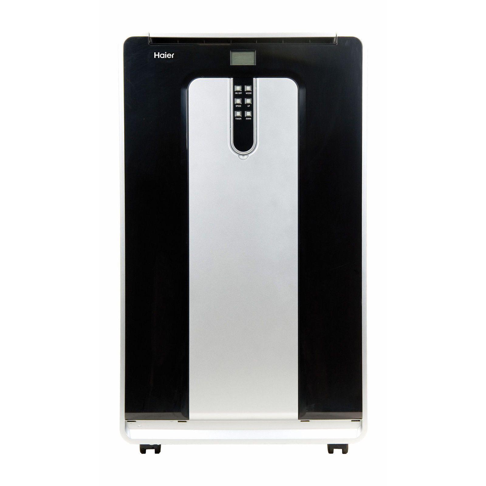 new haier 13500 btu 3 speed 600sf portable air conditioner w heater