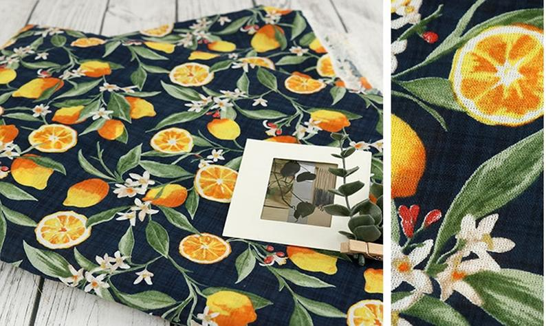 Autumn Fruits Print Fabric 100/% Rayon Craft Fabric Home Decor Fabric Apparel Fabric Fashion Fabric Quilting Fabric Fabric By The Meter