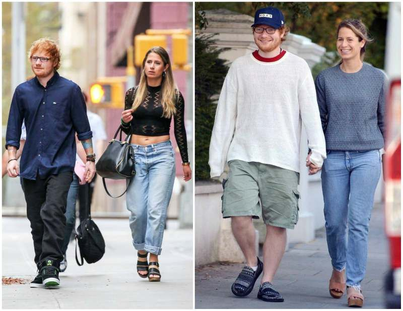 Ed Sheeran S Family Fiancee Cherry Seaborn Ed Sheeran Cherry Seaborn Ed Sheeran Ed Sheeran S Wife