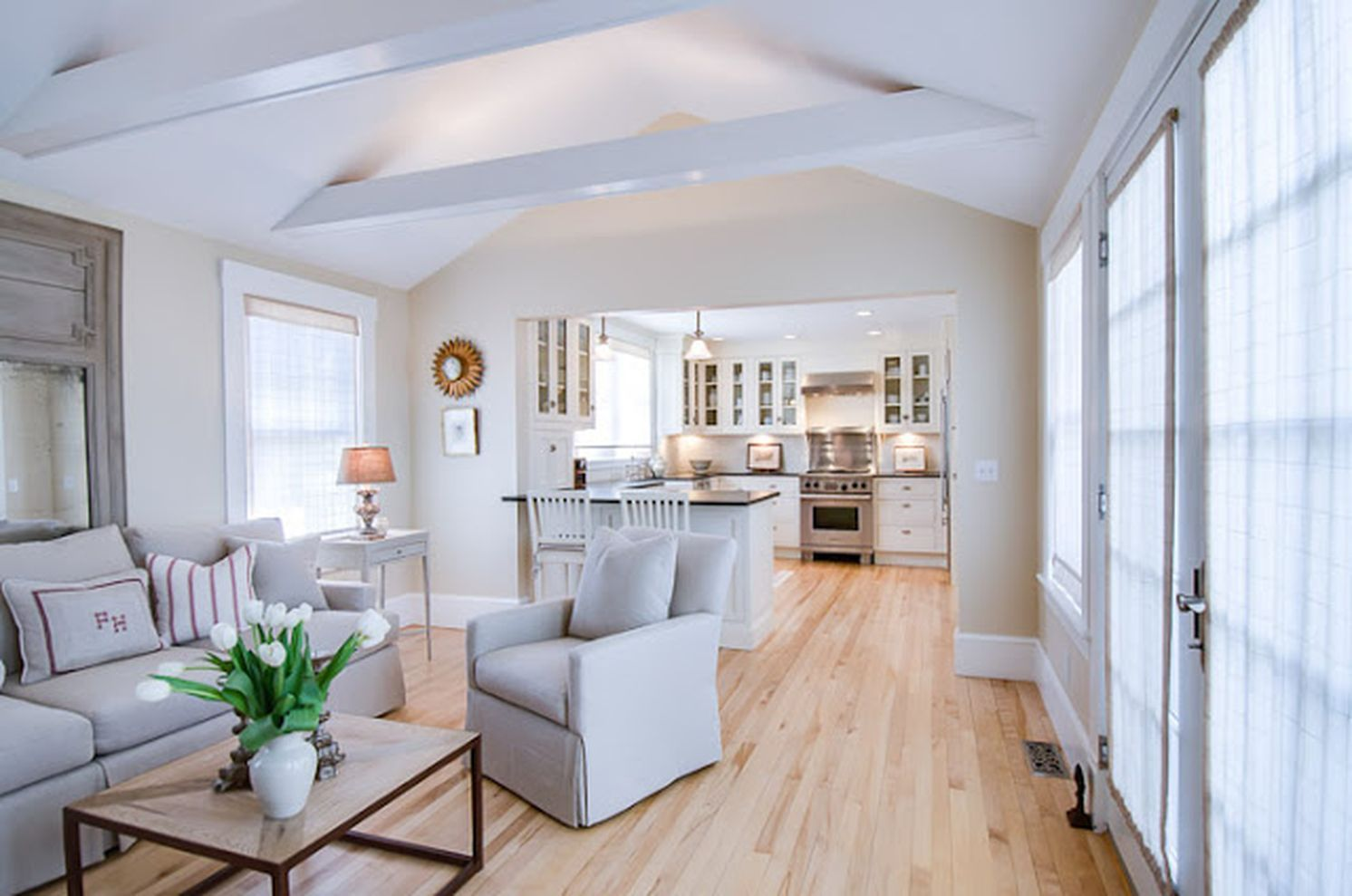 65 Beautiful Long Narrow Living Room Ideas Roundecor Long Narrow Living Room Narrow Living Room Open Concept Kitchen Living Room