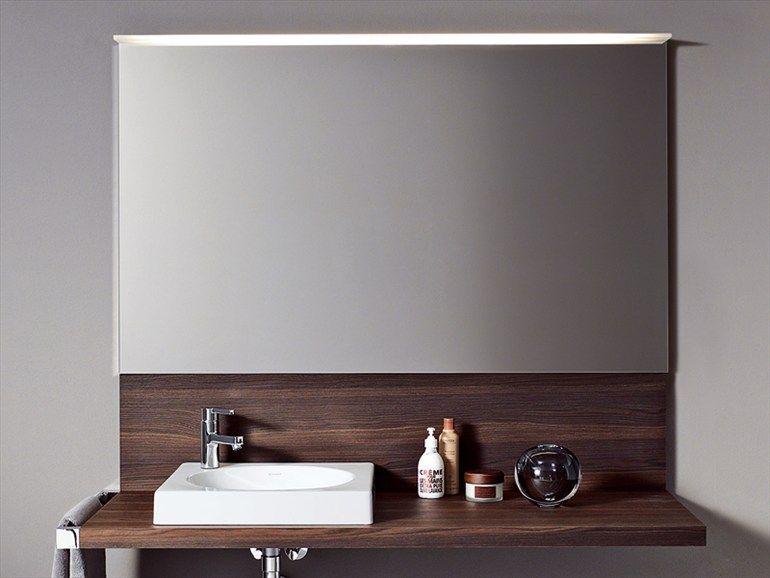 Badspiegel Licht- Kollektion Delos by DURAVIT Italia | Bad | Pinterest