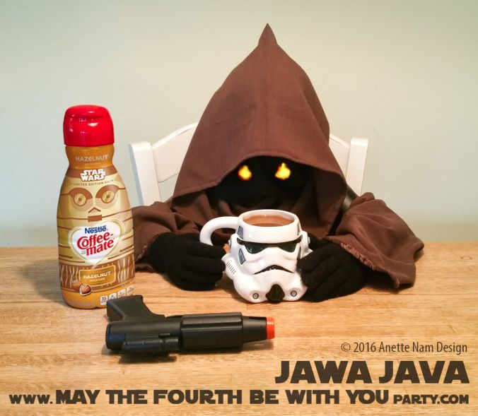 May The Fourth Be With You Recipes: Jawa Java With Stormtrooper Coffee Mug And C-3PO Coffee