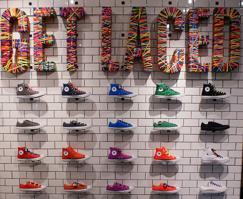 Converse wall - #converse #shoes