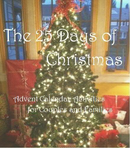 25 advent calendar activities for couples A couple nice ideas ...