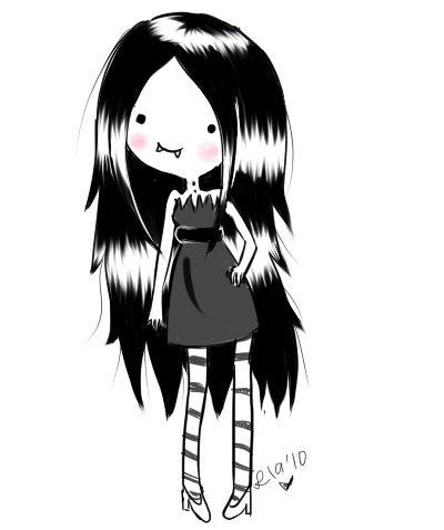 marcelin :)   Marceline reina vampiro   Pinterest   Hora de Aventura ...