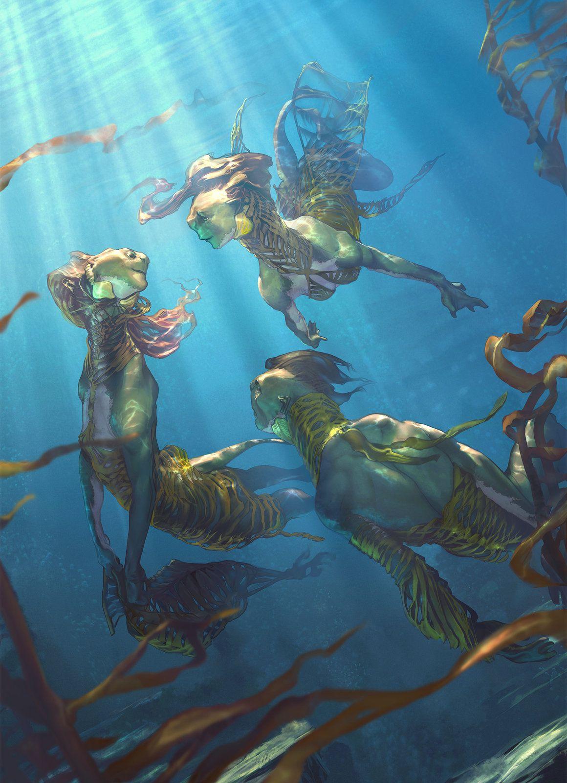 Amphibian Humanoids