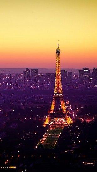 Eiffel Tour At Night Iphone Wallpaper