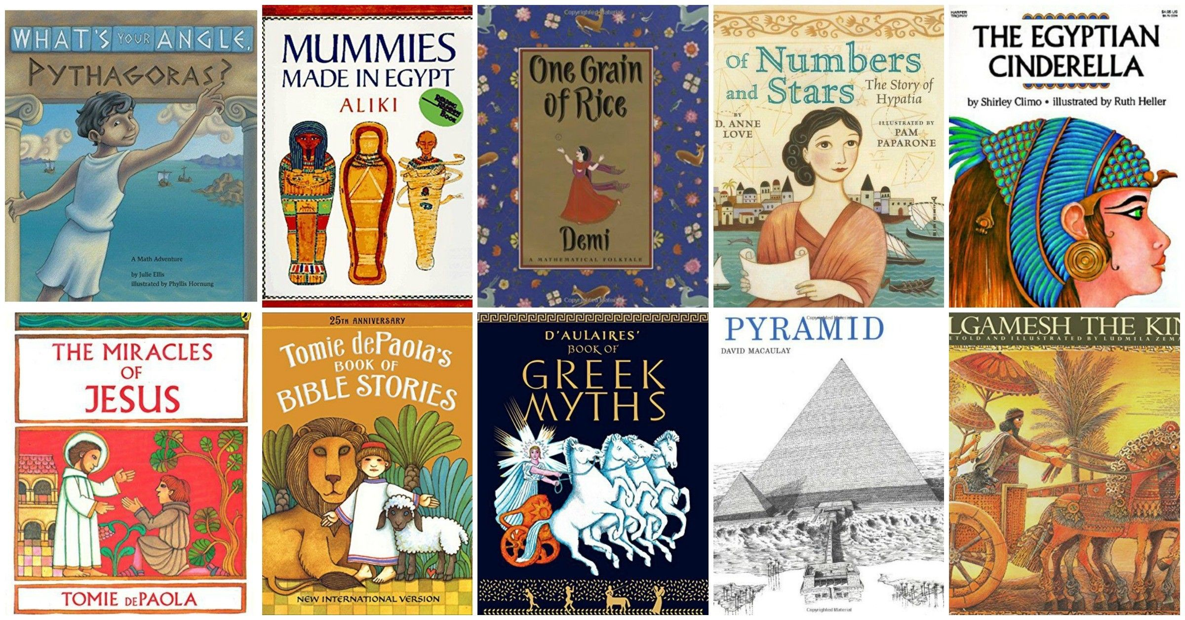 Photo of If you're looking to read picture books for ancient history studies with your ki…