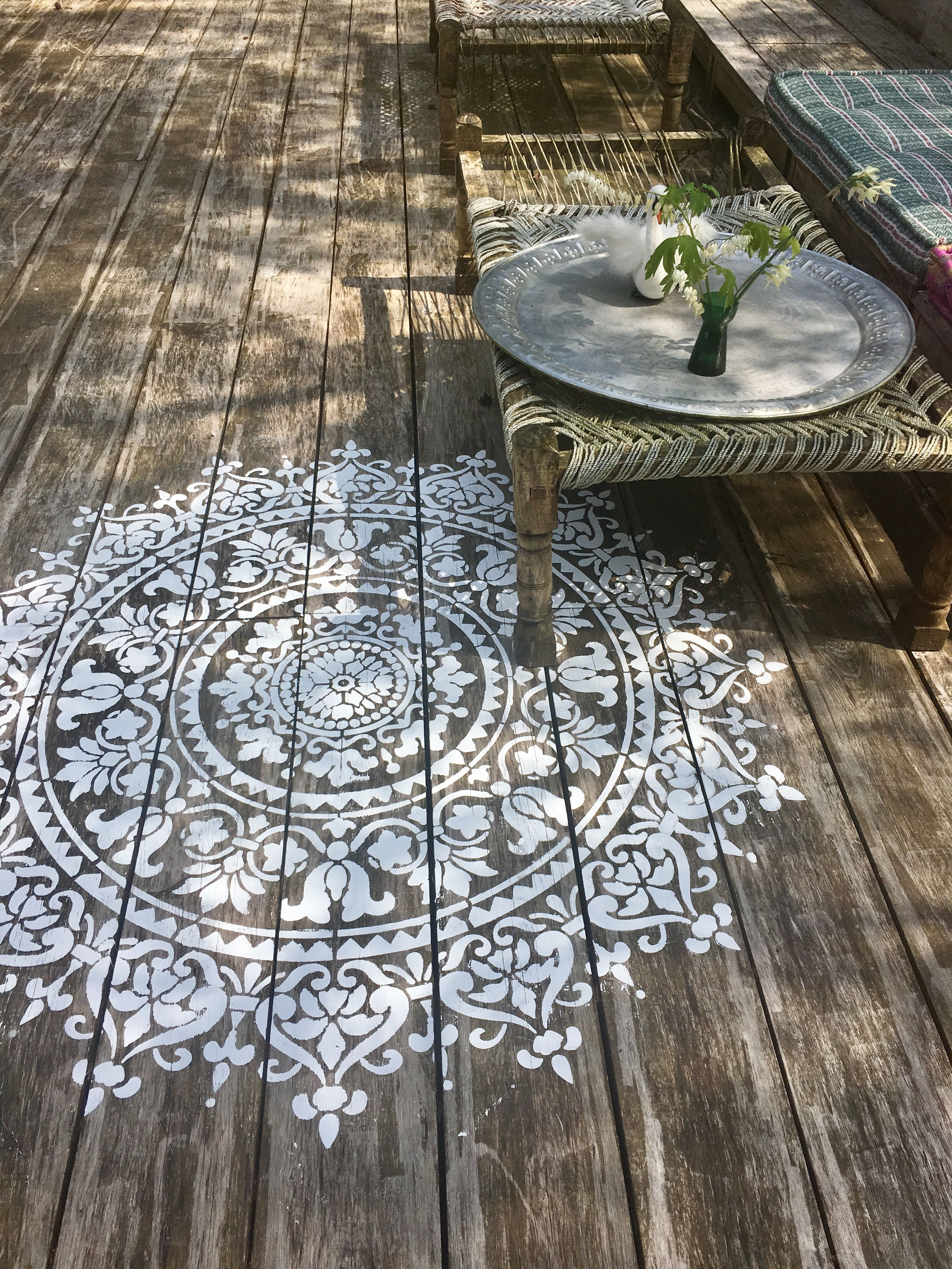Terrasse Exterieur Natte Ibiza Stencils Loves To Make Your Home Beautiful