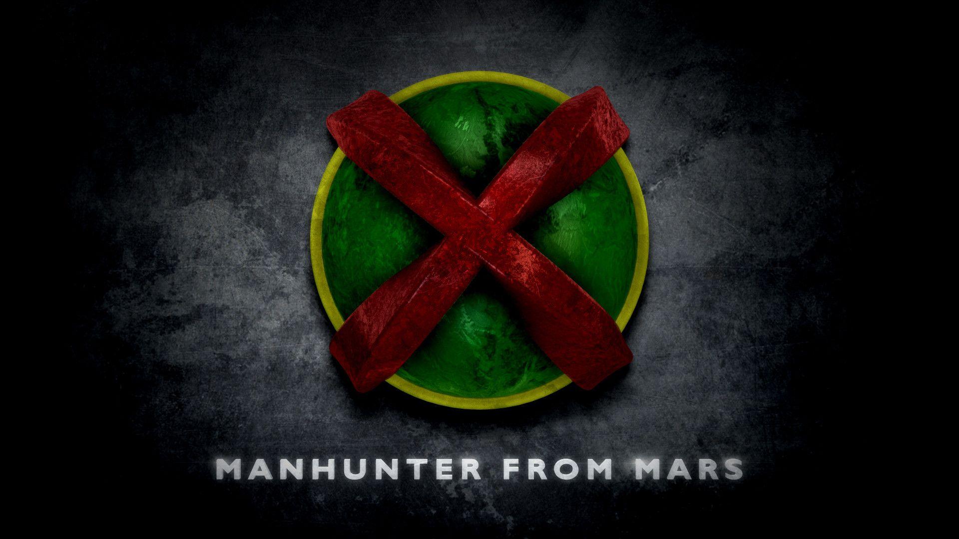 martian manhunter stylized logo dc universe logos