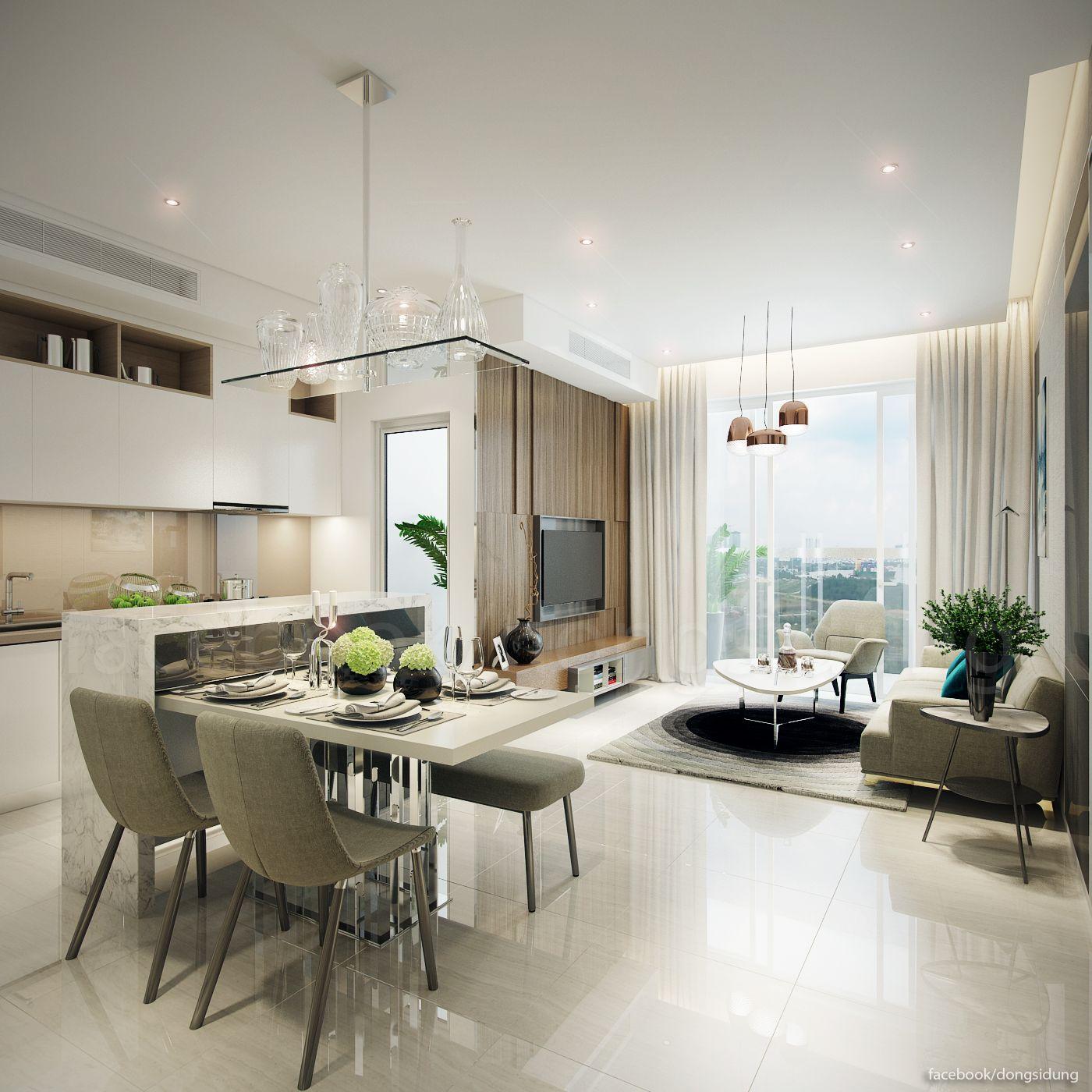 Condo Interior, Condominium Interior
