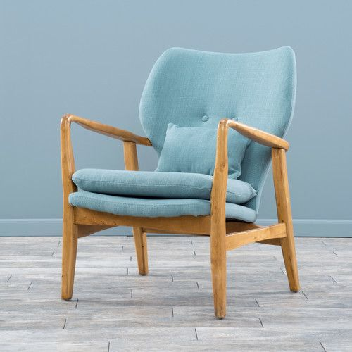 Found it at Joss & Main - Tristan Arm Chair   blue decorating ...