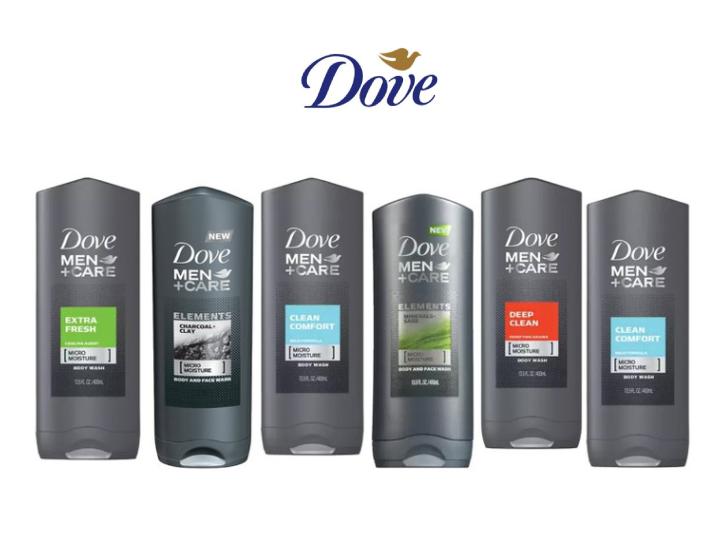 Dove Men S Shower Gel 6 Pack Mens Shower Gel Men Shower Shower Gel