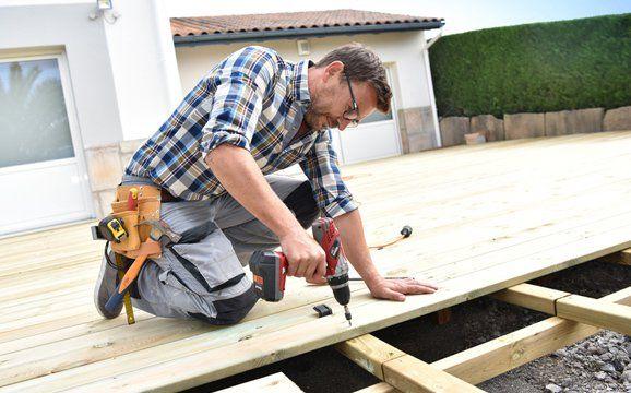 Deck-Linea Terrasse bois, brise vue, claustra  matériaux et