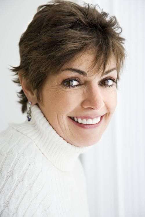 35 Chic Short Hairstyles For Women Over 50