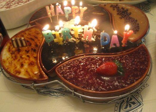 تشيز كيك الفصول الاربعة حلويات سعد الدين Food Sweets Birthday Candles