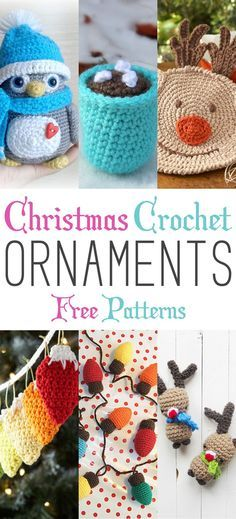 Christmas Crochet Ornaments with Free Patterns ...