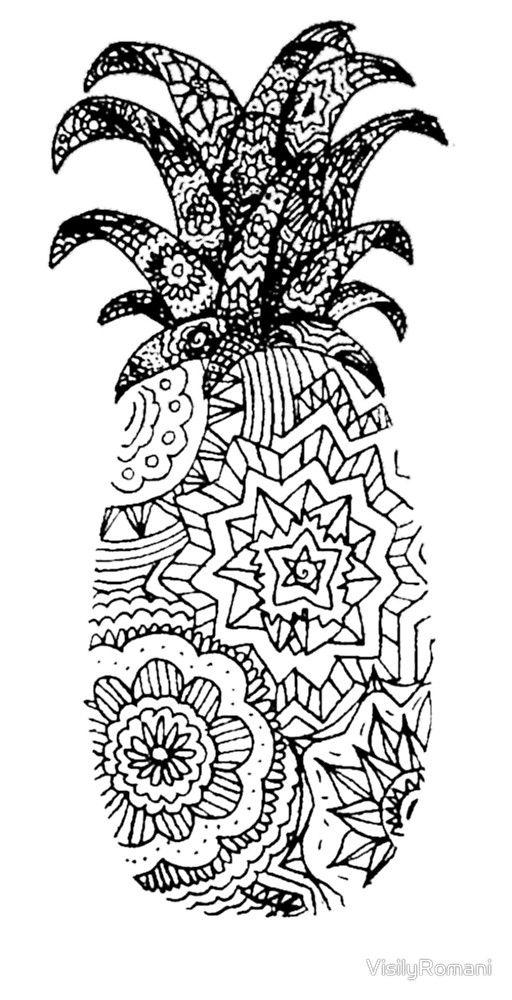 """résultat de recherche d'images pour """"mandala ananas"""