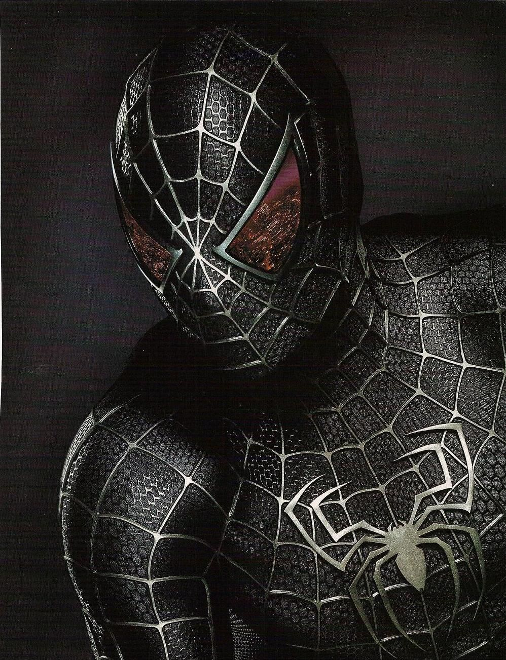 black-noir-zwart-nero-negro | superheroes | spiderman, black
