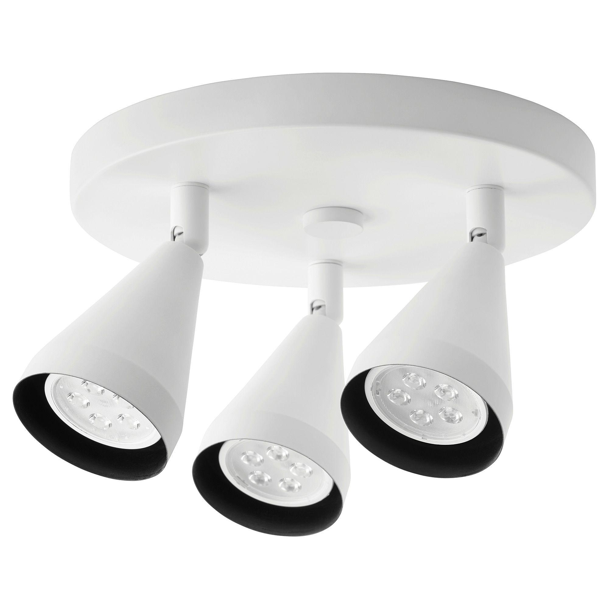 Navlinge Ceiling Spotlight With 3 Spots White Ceiling Spotlights Led Ceiling Spotlights Ceiling Lamp
