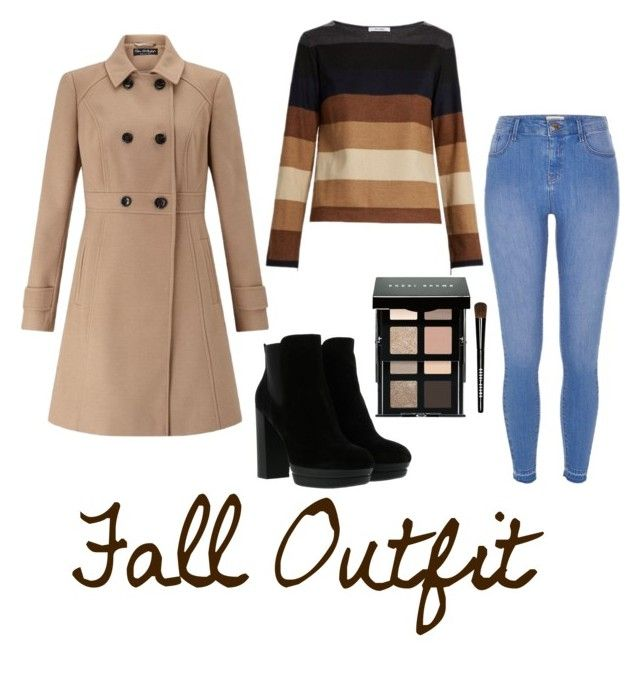 """""""Fall Outfit"""" by pumpkinseed112 ❤ liked on Polyvore featuring Miss Selfridge, MaxMara, River Island, Hogan, Bobbi Brown Cosmetics, Fall and muah"""