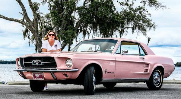 Perfect In Pink: 1967 Dusk Rose Ford Mustang