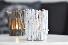 Bild von [Blogger for Fall] Herbstlicher DIY Kerzenhalter aus Zweigen | Meine