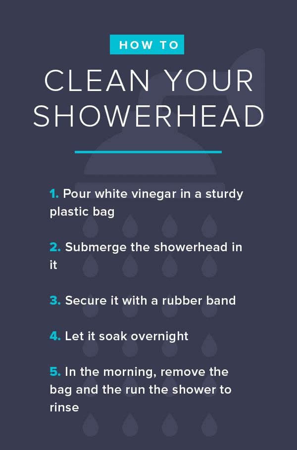 How To Clean Your Kitchen Sink Showerhead Makeup Brushes And More