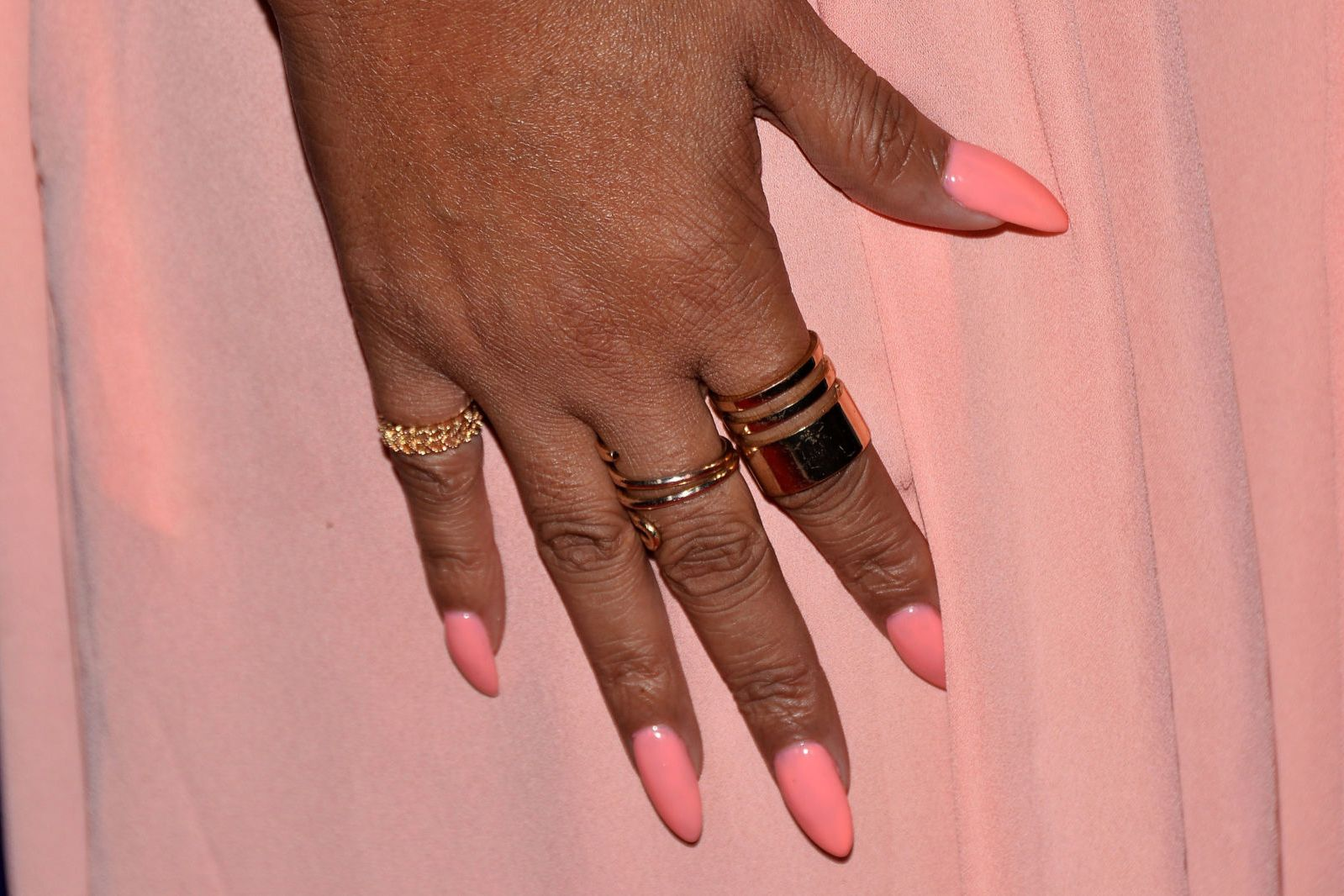 All the Different Nail Shapes — Decoded! 8. STILETTO While ...