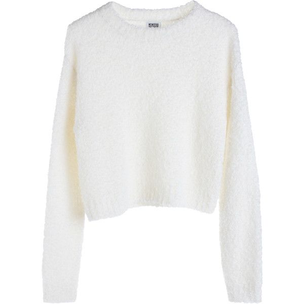 Hatch Knit Sweater ❤ liked on Polyvore