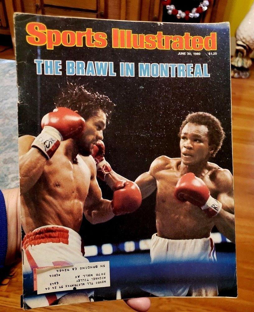 ROBERTO DURAN VS SUGAR RAY LEONARD Sports Illustrated