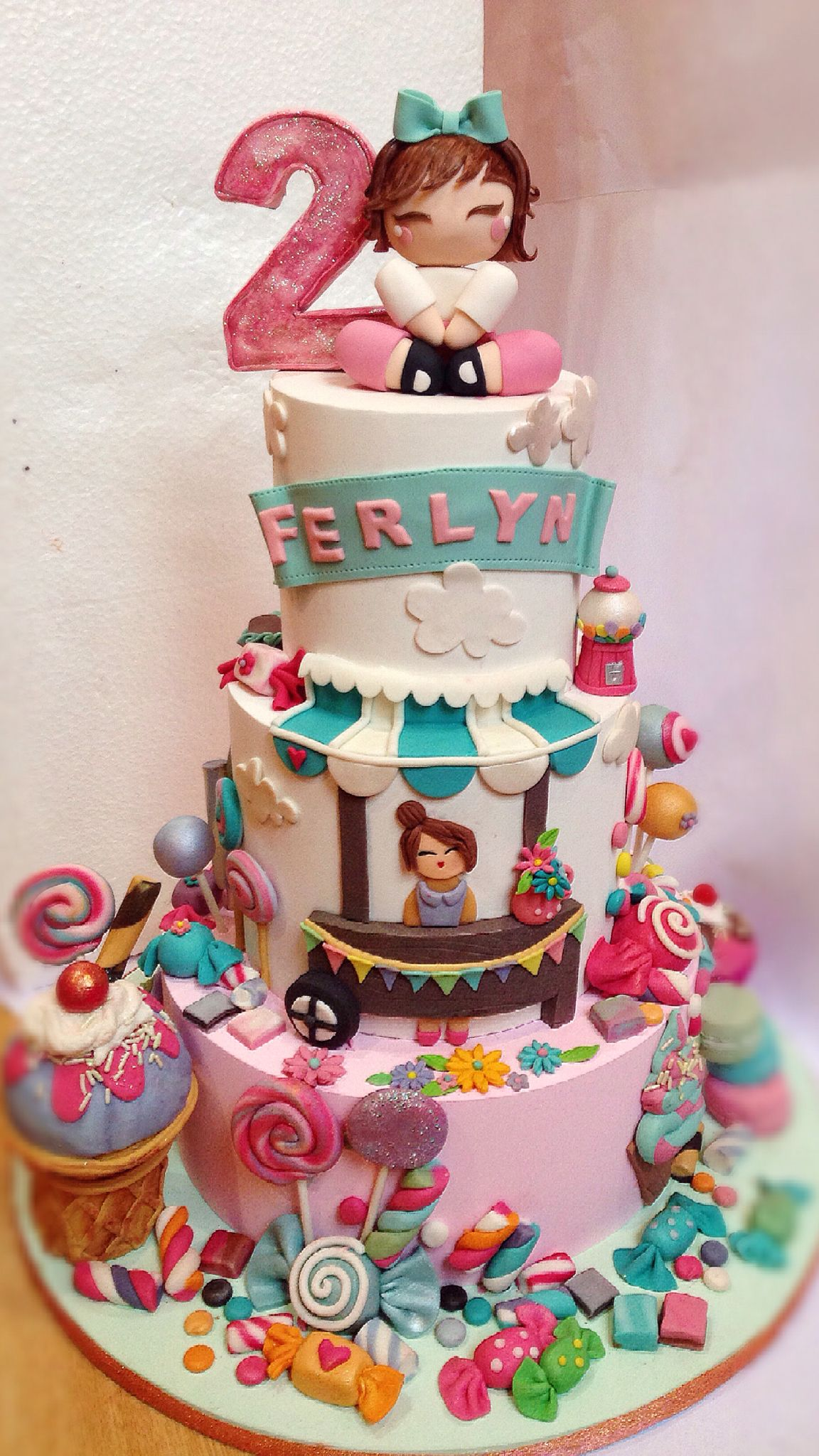 Birthday Cake Candyland Cake Pinterest Cake Birthday Cake And