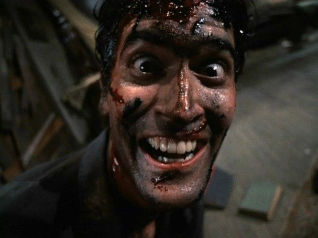 Bruce Campbell loses his sh*t.