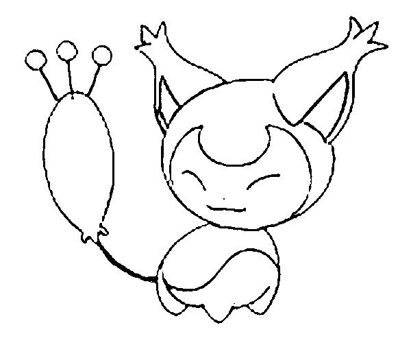 Skitty Pokemon Coloring Pages Pokemon Coloring Drawings